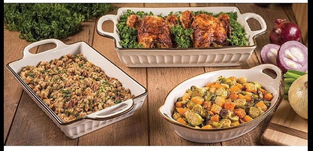 OVEN TO TABLE BAKEWARE/SERVEWARE SET