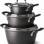 Tramontina 6-Piece Stackable Cookware.