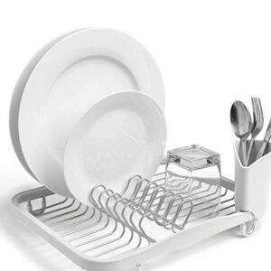 Sinkin Drying Rack- Dish Drainer with Caddy.