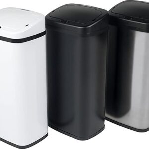 Square Sensor Auto Automatic Kitchen Waste Dust Bin.