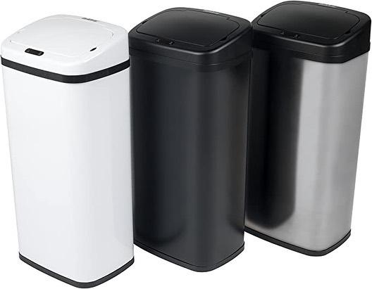 Square Sensor Auto Automatic Kitchen Waste Dust Bin.