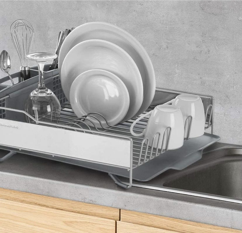 KitchenAid Compact Dish-drying rack with Stainless Steel